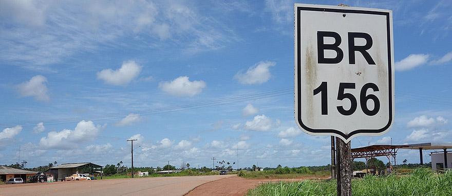 Road BR-156 in Brazil