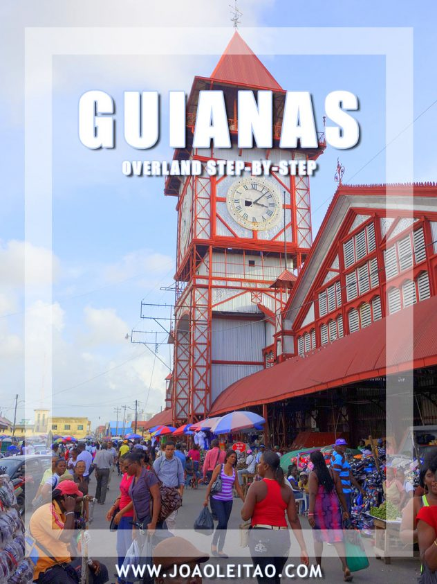 Backpacking Travel Guide to Cross Guyana, Suriname and French Guiana