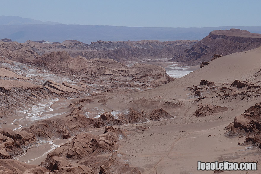 Photo of the Moon Valley in Atacama Desert Chile
