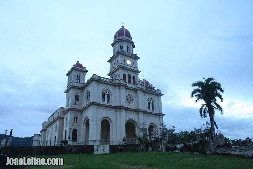 Facade of The National Shrine Basilica of Nuestra Señora de la Caridad del Cobre
