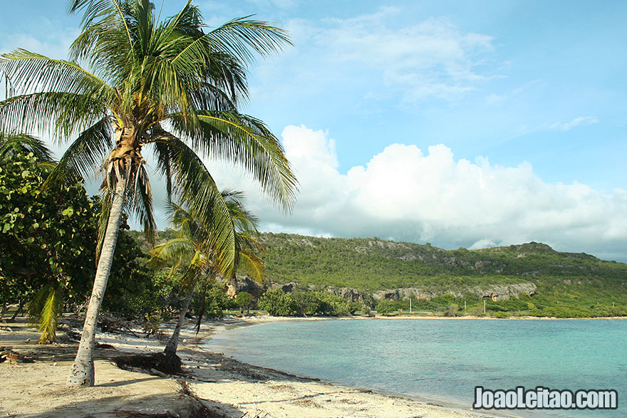 Wild beach in Cuba