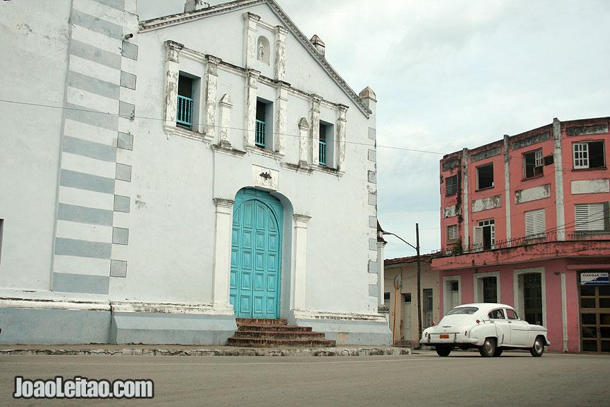 The Iglesia Parroquial Mayor del Espiritu Santo church in Sancti Spiritus city