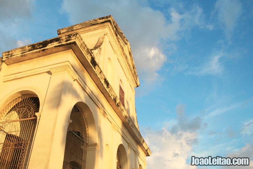 Holy Trinity Church facade in Trinidad