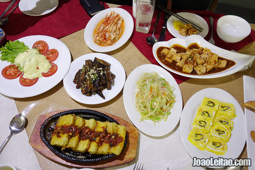 Korean food is so tasty, healthy and with great variety.