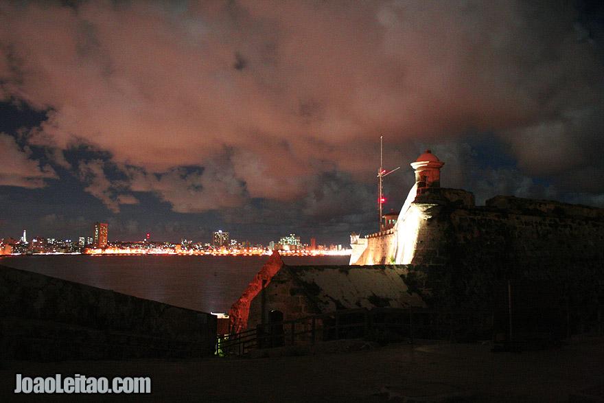A fortaleza de El Morro em Havana
