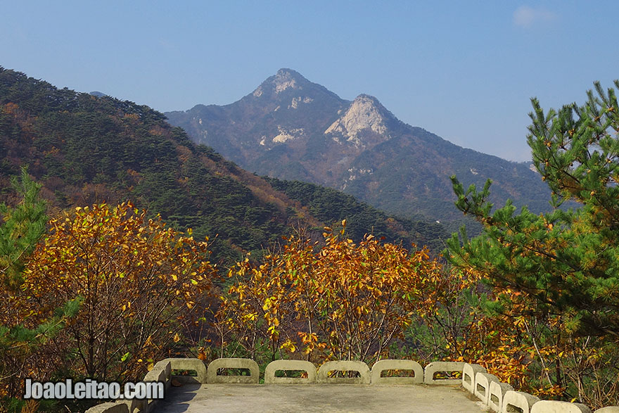 Mt. Kuwol literally means Mt. September because it is particularly beautiful in this month of the year.
