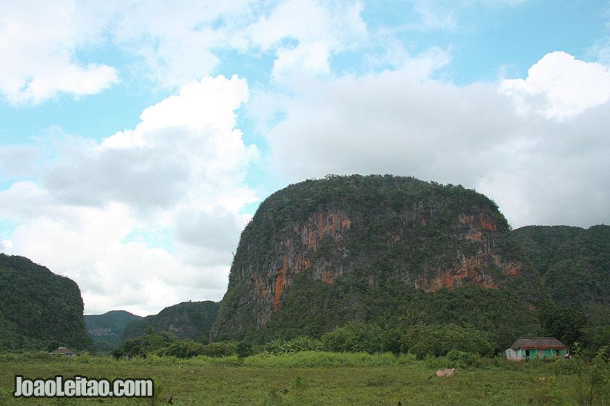 Mountain in Viñales region