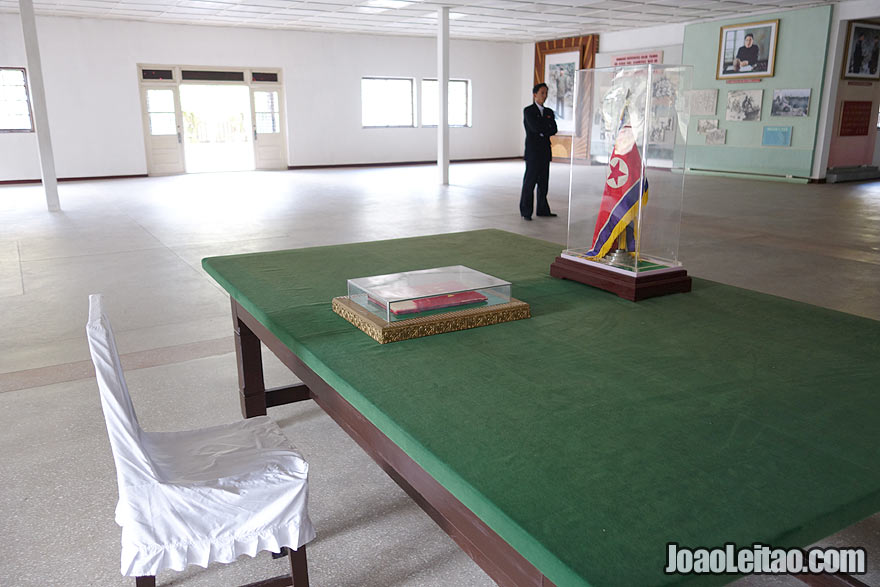 You can visit the Panmunjom where the Korean War armistice was signed on July 27th 1953.