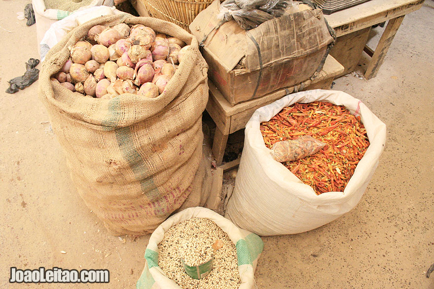 Spices in Timbuktu market