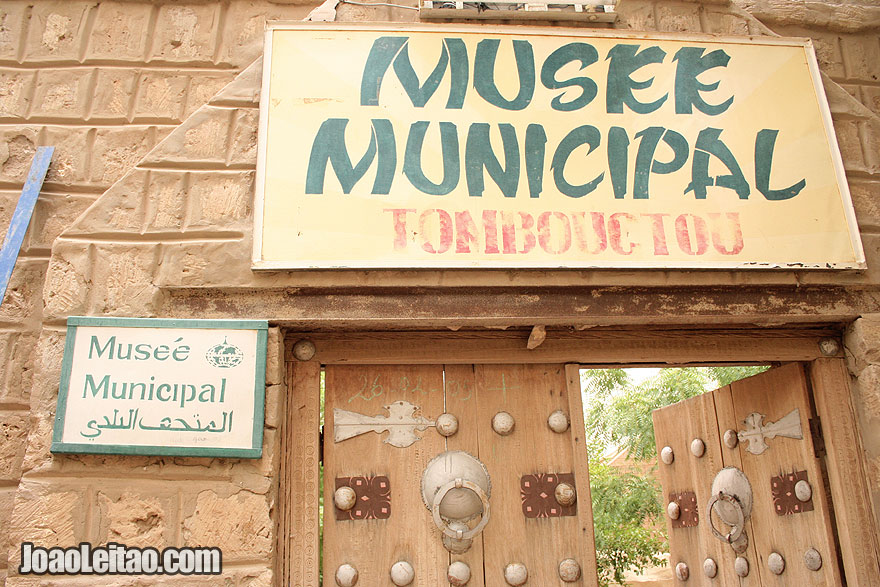 Timbuktu Museum entrance
