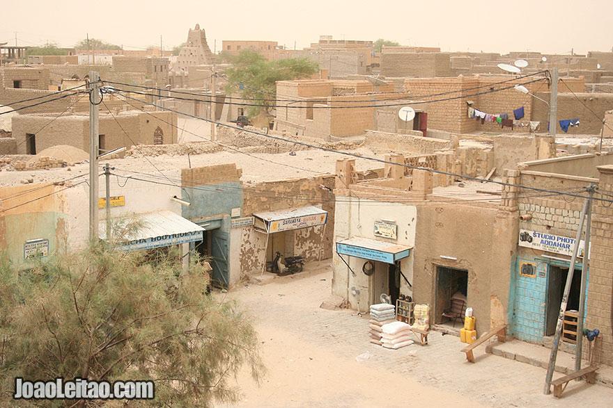 Panoramic view of Timbuktu