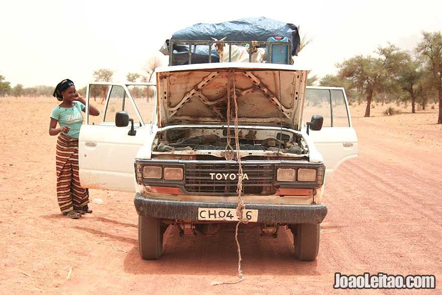Transportation out of Timbuktu