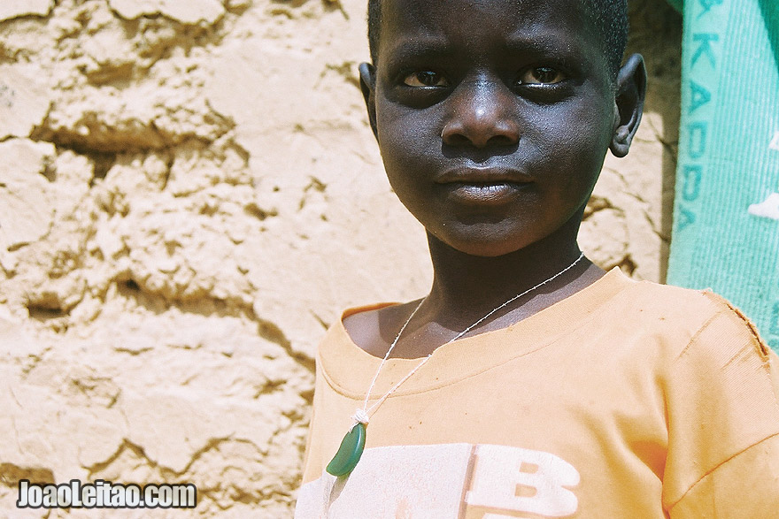 Boy in Ndioum village, Senegal