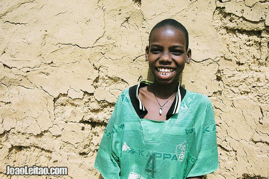 Happy boy with big smile, Senegal