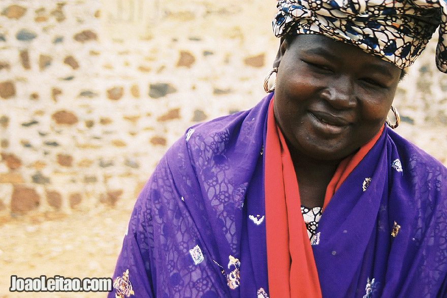 Woman in Goree Island, Senegal