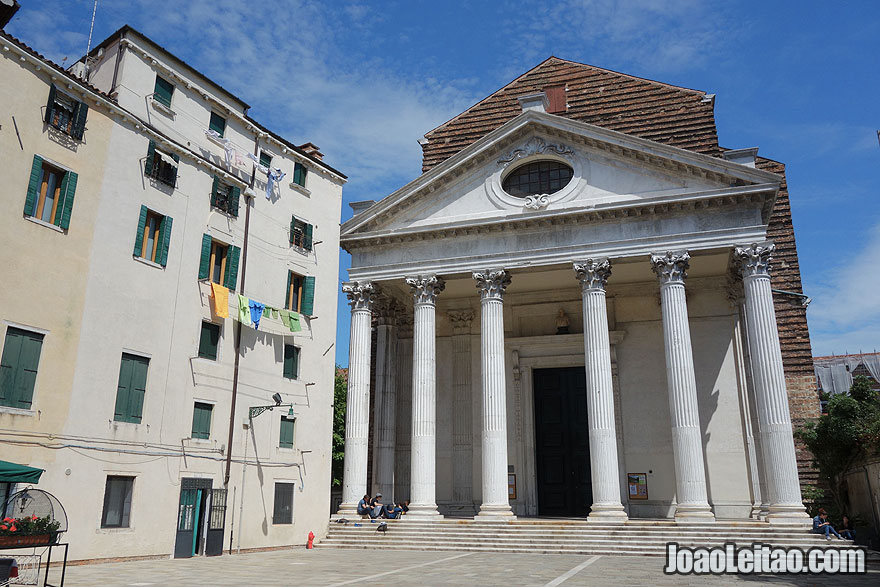 Chiesa di San Nicola da Tolentino Church facade