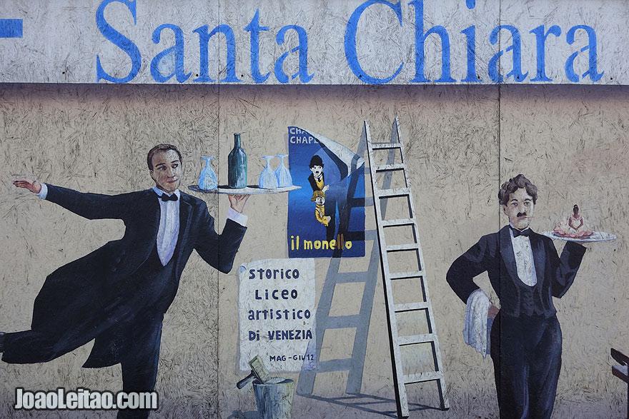 street art in Santa Chiara district
