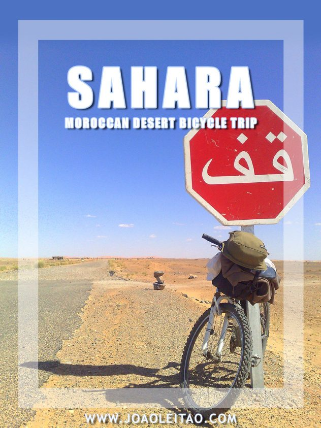 Cycling the Sahara Desert - bicycle trip in Morocco