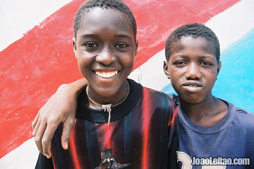 Boys in Janjanbureh Island, Gambia