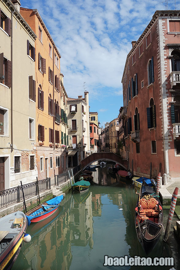 Venice water canal