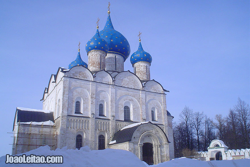 Suzdal Cathedral of the Nativity from the year 1225