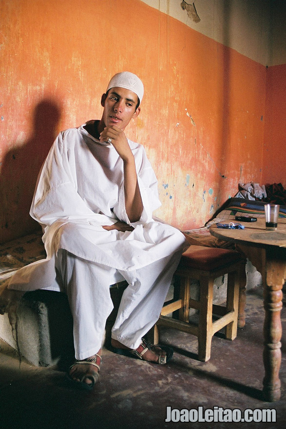 Photo of boy from Merzouga in Sahara Desert, Morocco