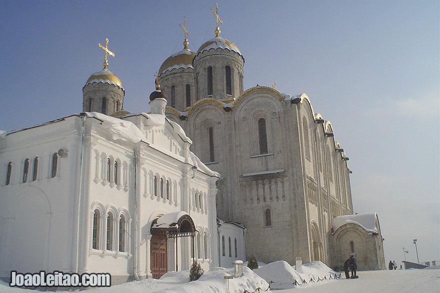 Dormition Cathedral in Vladimir dating back from 1158