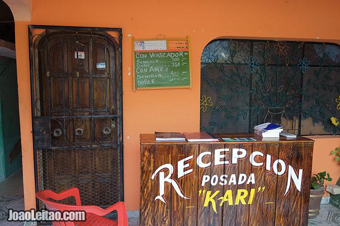 Posada Kari in Piste (Chichen Itza), Mexico
