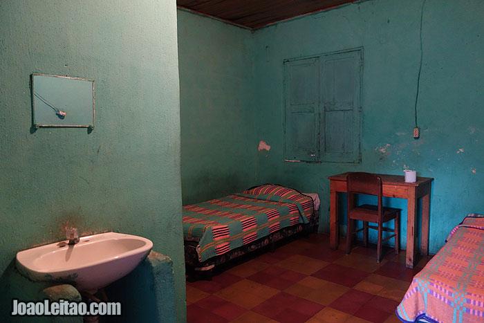 Hotel Alemán in Cobán, Guatemala
