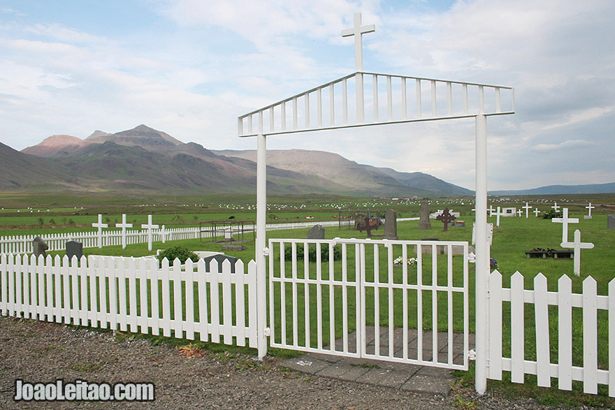 Visit Leira Cemetery Western Region Iceland