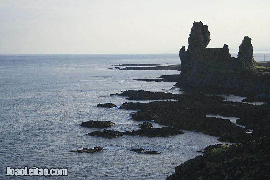 Visit Londrangar Basalt Cliffs in Snaefellsnes Peninsula, Western Region Iceland