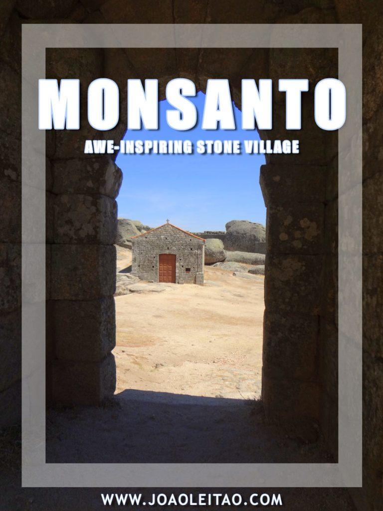 मोनसेंटो पुर्तगाल की यात्रा • अतुल्य पत्थर गांव
