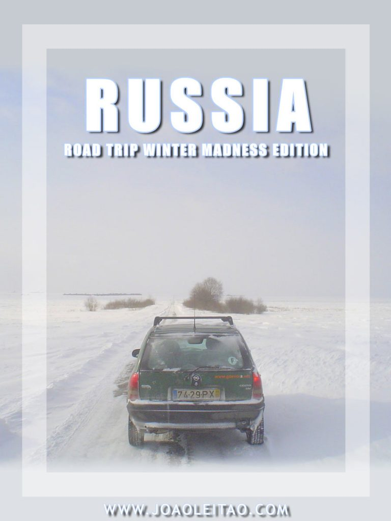 Driving in Russia – Winter road trip – Madness edition