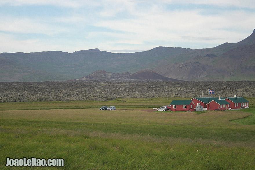 Visit Raudhalsahraun Lava Fields Western Region Iceland
