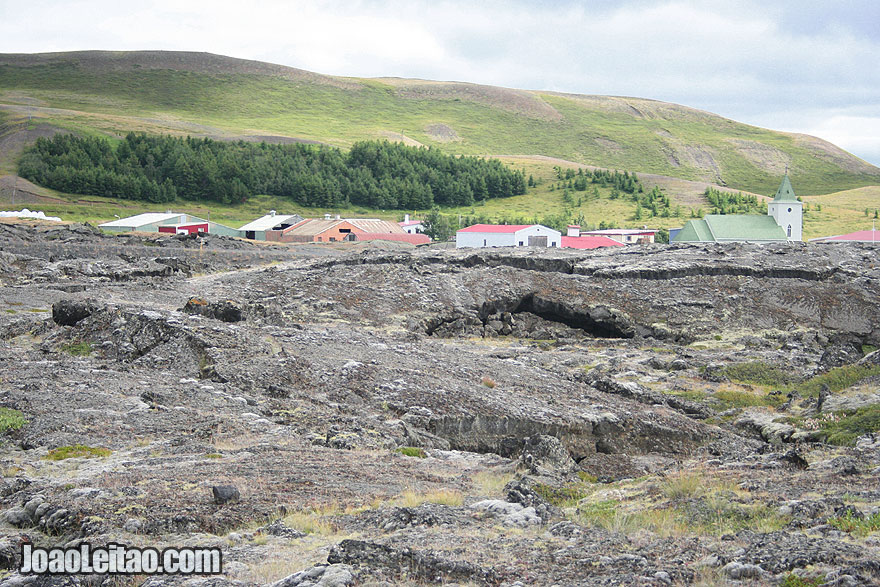 Visit Reykjahlid Village surrounded lava Northeastern Region Iceland