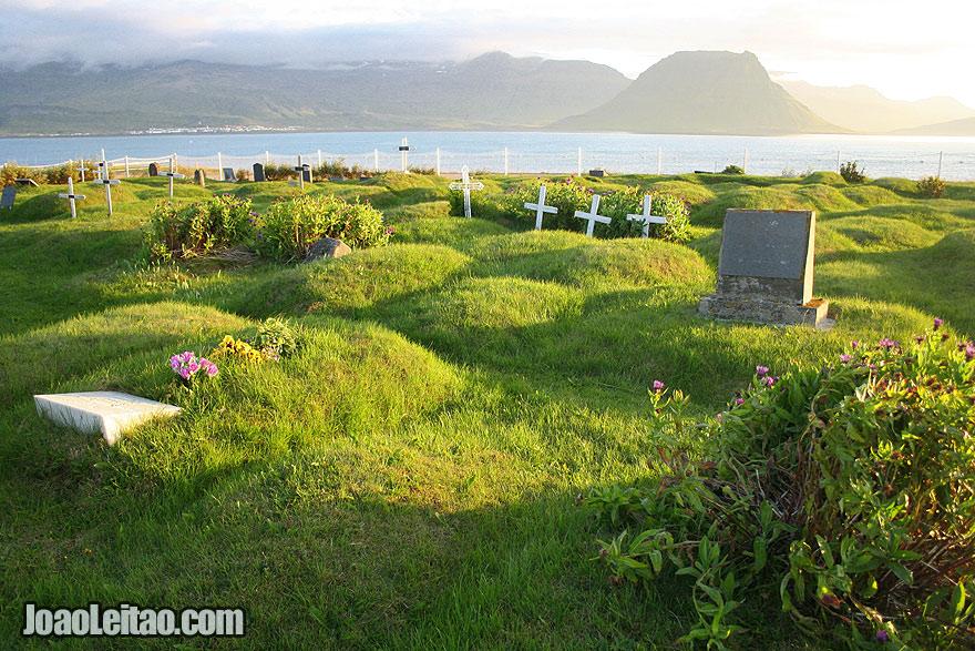 Visit Setberg Cemetery Western Region Iceland
