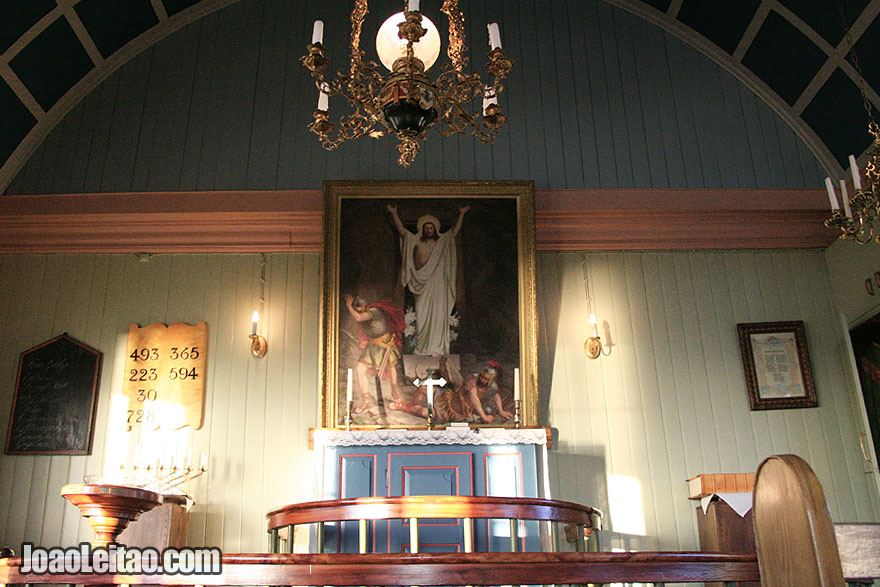 Visit Setberg Wooden Church Western Region Iceland