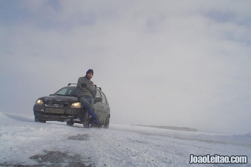 Viajar de carro na Rússia