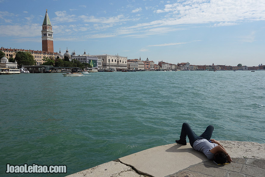 View of Venice from the Punta della Dogana di Mare
