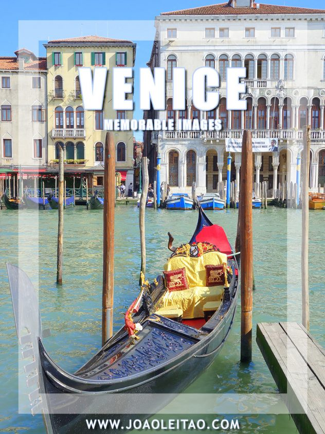 Venice Iconic City - Memorable and Unforgettable Images, Italy