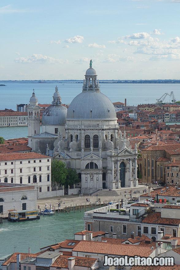 Basilica of St Mary of Health or Basilica di Santa Maria della Salute