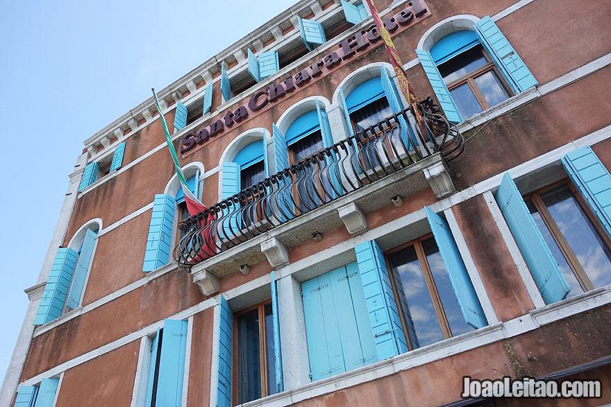 Santa Chiara Hotel facade