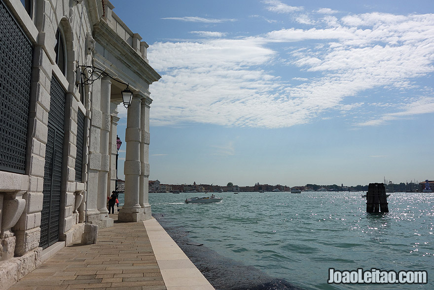 Venice's old customs building