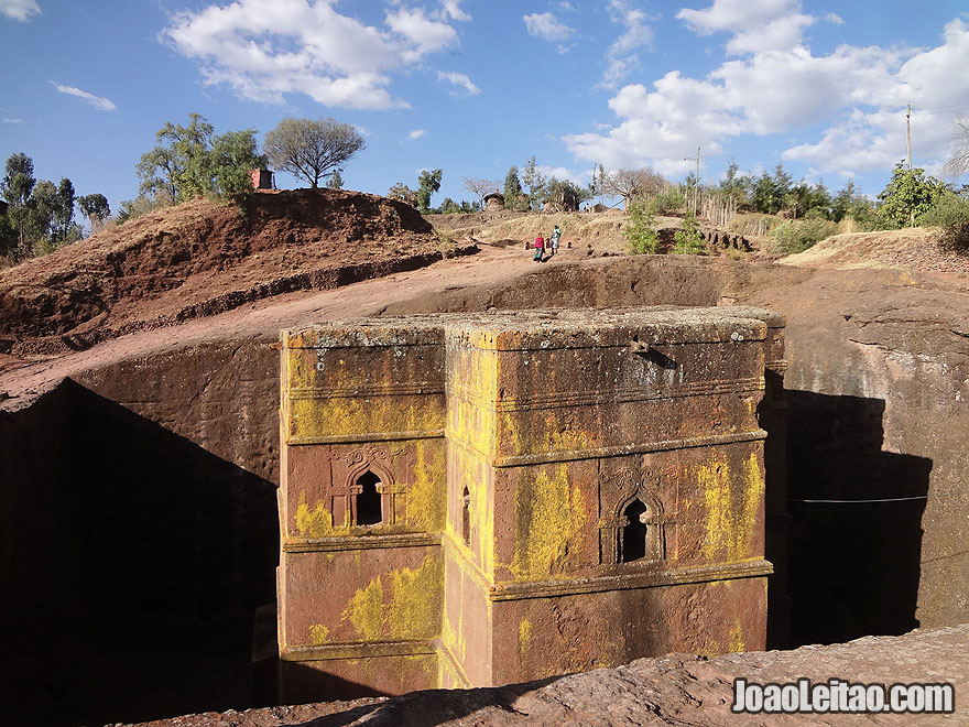 Rock-Hewn Church of Bet Giyorgis in Lalibela