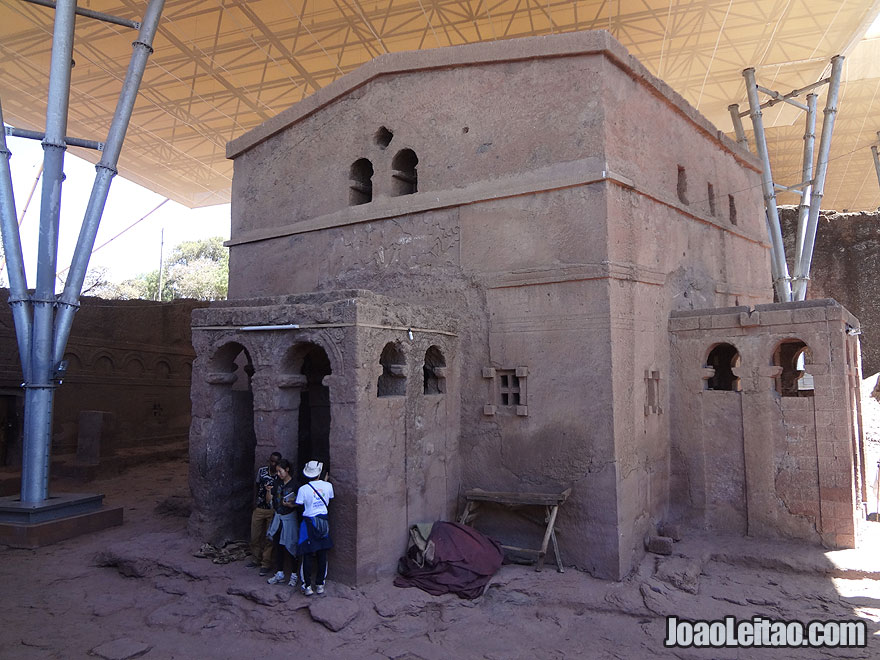 Rock-Hewn Church of Bet Maryam in Lalibela