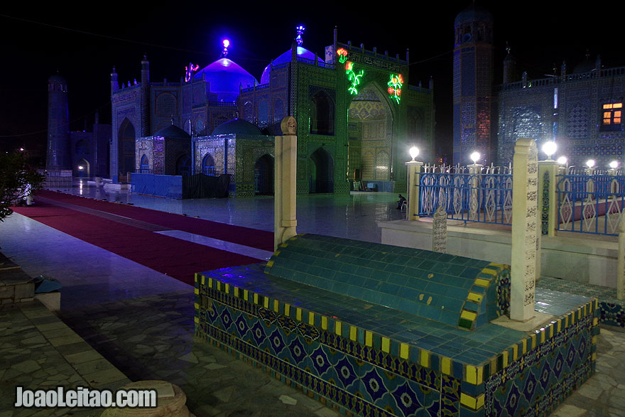 Blue Mosque, Shrine of Ali in Mazar-i-Sharif, Afghanistan