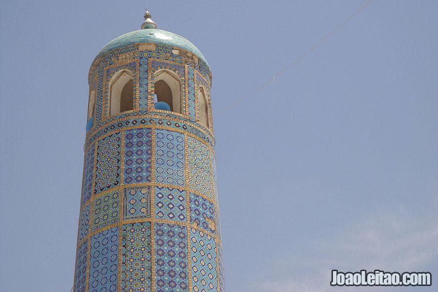 Blue Mosque, Shrine of Ali in Mazar-i-Sharif, Afghanistan