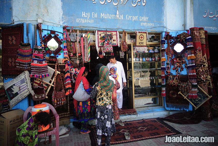 Carpet Shop in Mazar-i-Sharif