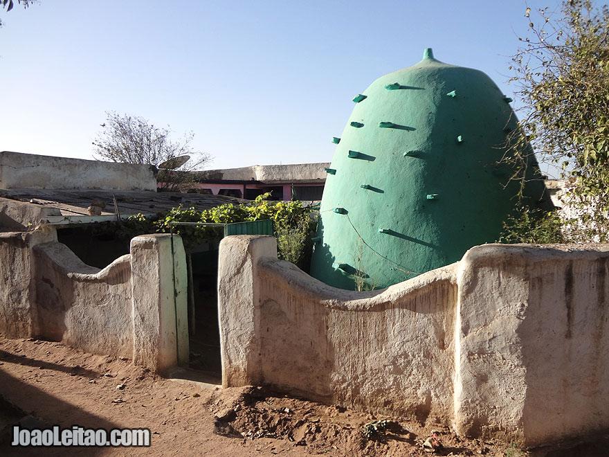 Emir Nur Tomb in Harar, Ethiopia