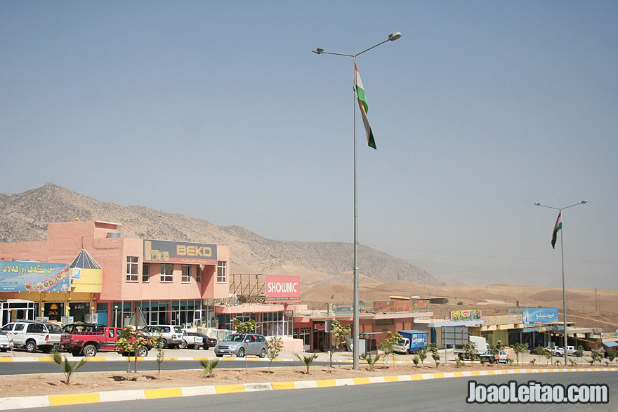 Hitchhiking Dohuk to Akre